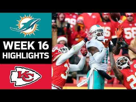 Video: Dolphins vs. Chiefs | NFL Week 16 Game Highlights