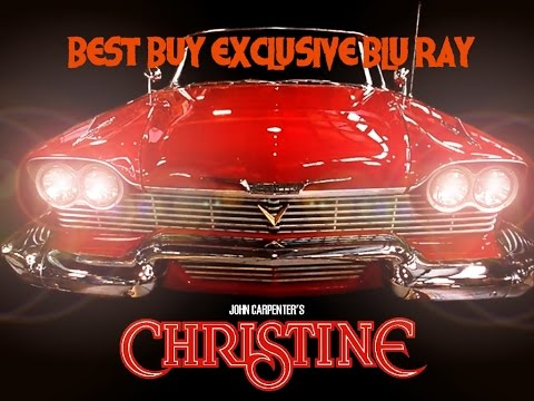 Christine Blu Ray Best Buy Exclusive Review