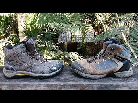 REVIEW BOTA THE NORTH FACE HEDGEHOG TALL GTX XCR III