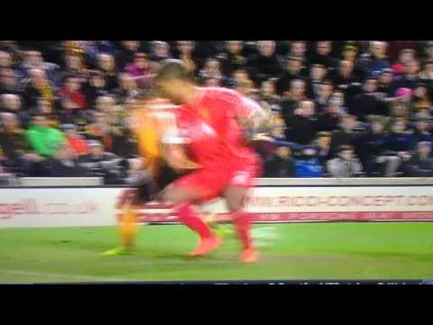 Sone Aluko Insane Skill Vs. Liverpool