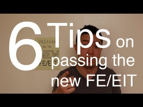 how to review for fe exam