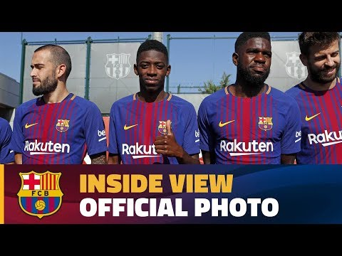 [BEHIND THE SCENES] Official FC Barcelona Photo With The Women's Team