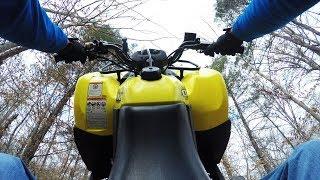 2. SUZUKI OZARK 250 ATV - TEST REVIEW