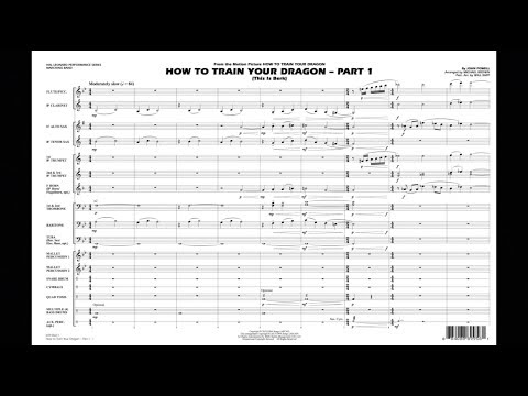 How To Train Your Dragon - Part 1 By John Powell/arr. Michael Brown