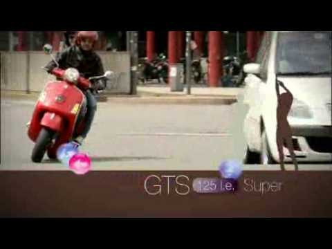 Vespa GTS 125 Super Official Video