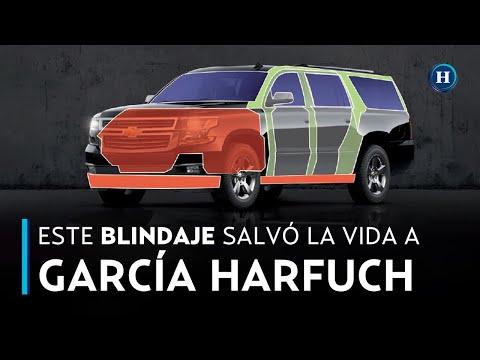 BLINDAJE de la CAMIONETA de García Harfuch: CLAVE en su SUPERVIVIENCIA