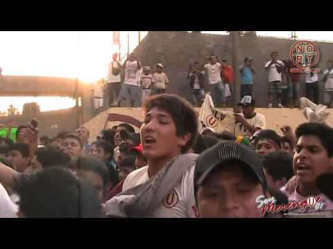 UNIVERSITARIO vs Leon de Huanuco - Esta es tU hinchada...♫♫♫ - Trinchera Norte - Universitario de Deportes