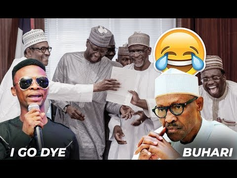 I GO DYE AT IT AGAIN...SAYS PRESIDENT BUHARI SHOULD RESIGN ON STAGE