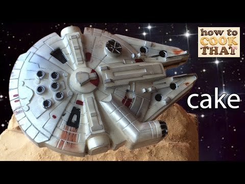 STAR WARS CAKE MILLENNIUM FALCON CHOCOLATE How To Cook That Ann Reardon