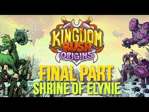 Kingdom Rush Origins Gameplay Walkthrough - Final Level - Shrine of Elynie