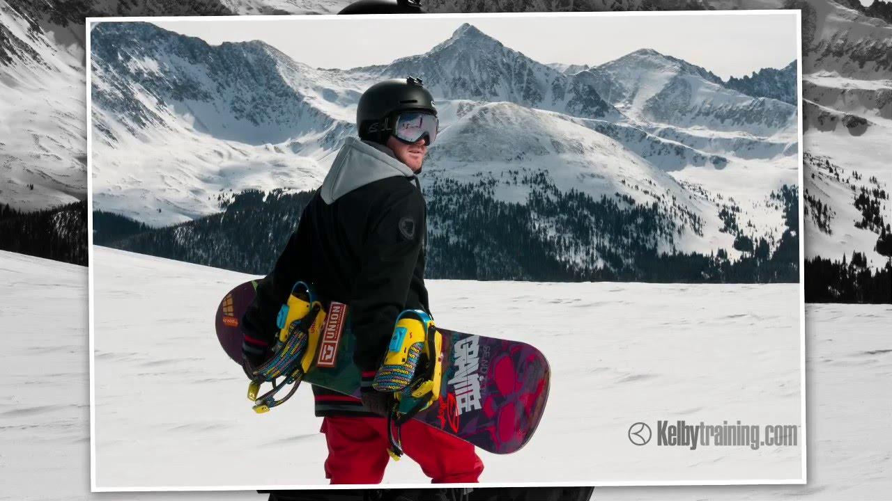 KelbyTraining.com – Winter Sports Photography Trailer