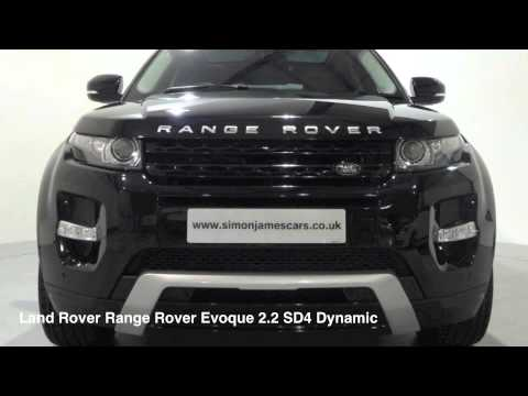 Land Rover Range Rover Evoque 2.2 SD4 Dynamic
