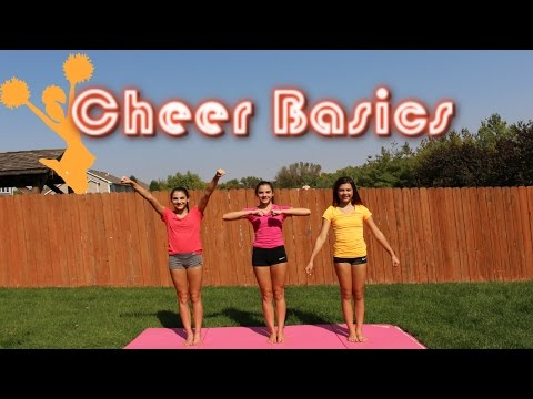 Basics - OPEN FOR MORE TC2↓ Gymnastics Basics: https://www.youtube.com/watch?v=VkrjhM1YBkE Today we show you some basic principles of cheer, like this video if you w...