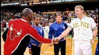 Larry Bird schools Michael Jordan
