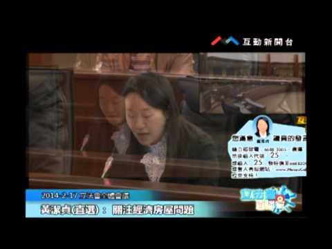 黃潔貞20140217立法會議