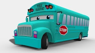 Video kids channel | passenger bus | 3D | street vehicle MP3, 3GP, MP4, WEBM, AVI, FLV Juni 2018