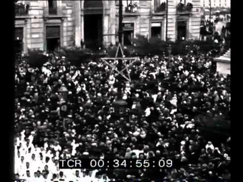 festa di sant'agata a catania: filmato storico