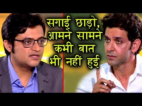 10 Big Revelations Hrithik Roshan Made on Arnab Go