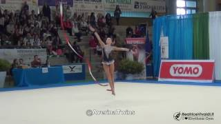 Sansepolcro Italy  city photos gallery : Arina Averina (2016) Ribbon | Sansepolcro · Italy | @AverinaTwins