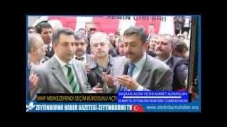 MHP Merkezefendi Mahallesine Seçim İletişim Birosunu Açttı