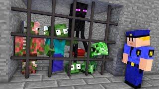 Video Monster School : JAILBREAK Challenge - Minecraft Animation MP3, 3GP, MP4, WEBM, AVI, FLV Juni 2019