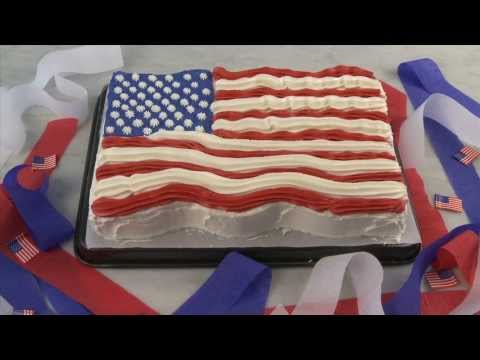 Cake Recipes – Flag Cake