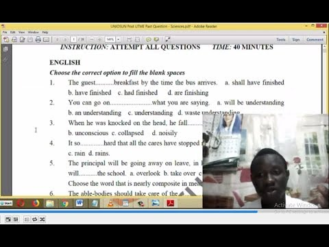 HOW TO GET POST UTME PAST QUESTIONS AND ANSWERS IN PDF & HARDCOPY