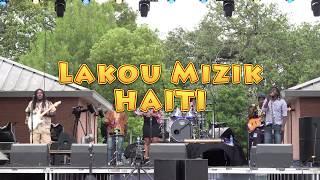 Lakou Mizik at Festival International in Lafayette, Louisiana 2017.  Recorded in 4K UHD by Michael Hébert.