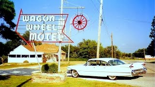 Cuba (MO) United States  city pictures gallery : WAGON WHEEL MOTEL - Cuba, MO - Pauline Armstrong - Route 66 - 1993 & 1995