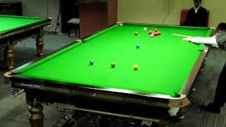 Dong(HK)  Vs Shaun Dalitz (AUS) At The World U21 Snooker Championship 2012(part-1)