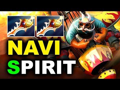 NAVI vs SPIRIT - 2x RAPIERS MEGAS OMG!!! - CIS FINAL GESC JAKARTA DOTA 2