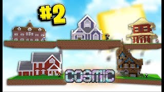 Getting Banned for Cheating $1,000,000 (#1 Island In The Pack) - Minecraft Cosmic Sky #2