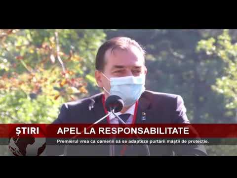 Ludovic Orban le cere românilor să se adapteze purtării măștii de protecție