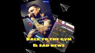 Finally back at the gym. As soon as I sat in a chair at the gym. Brody, told me the news, that broke my heart ☹     One of my ...