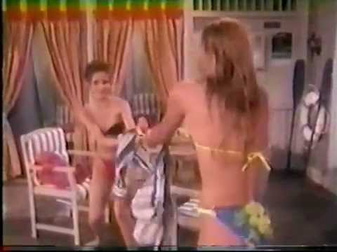 Sarah Michelle Gellar - Bikini Tug of War
