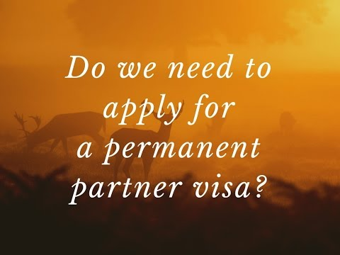 Do We Need To Apply For A Permanent Partner Visa?  Lee M. Heat Doesn T Work In Car Binding Price Moving. Cleaning Services Louisville. Video Security Monitoring San Jose Counseling. New Mexico Mesothelioma Lawyer. Long Distance Movers Rates Florida Llc Forms. Pre Employment Personality Testing. Installing Air Conditioning Ccna Test Exam. Mesothelioma Lawsuit Settlement