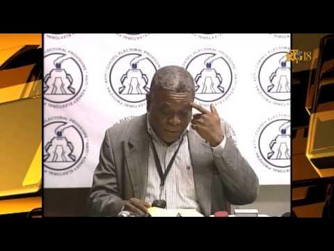 Le Porte-parole du CEP a présenté l'état d'avancement du processus électoral