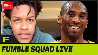 Shareef O'Neal Opens Up About His Final Conversation With Kobe Bryant | Fumble Live! by Obsev Sports