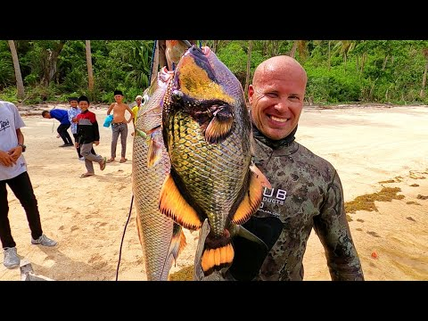 INDO TALES - EPISODE 7 Shore dive from a village and cooking trigger fish