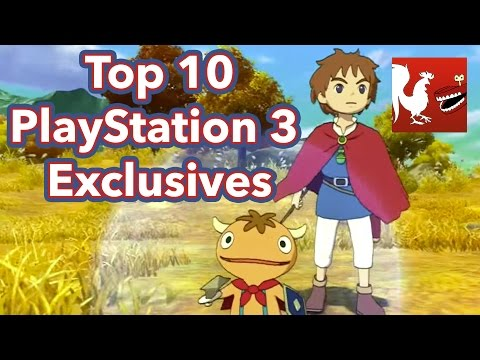 Top - Geoff, Michael, and Ryan go over the Top 10 PlayStation 3 Exclusives. RT Store: http://roosterteeth.com/store/ Rooster Teeth: http://roosterteeth.com/ Achievement Hunter: http://achievementhunter...