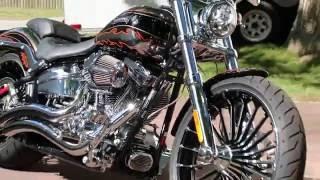 5. 2014 Harley Davidson CVO Breakout Screamin' Eagle Twin Cam 110B Custom Drag Bike For Sale