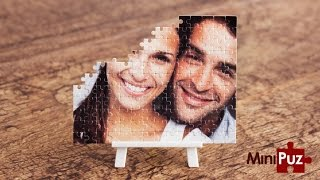The world's smallest personalized jigsaw puzzle gift set using new bespoke tools and printing methods. 154 pieces. Read More Here: https://www.kickstarter.com/projects/createjigsawpuzzles/worlds-smallest-and-trendiest-personalized-puzzle?ref=nav_search