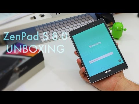 ASUS ZenPad S 8.0: Unboxing & First Impressions