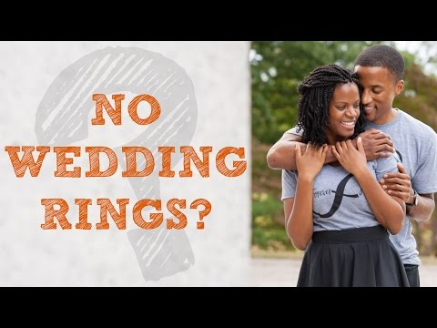 Why We Don't Wear Wedding Rings