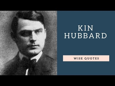 Happiness quotes - Kin Hubbard Saying & Quote  Positive Thinking & Wise Quotes Salad  Motivation  Inspiration