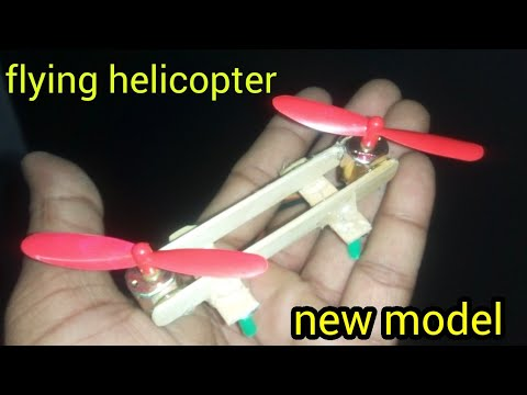 How To Make A Flying Helicopter