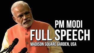 Madison (IN) United States  city photos : PM Modi full speech @ Madison Square Garden, New York, USA