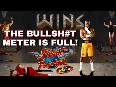 F#CK THIS GAME - Street Fighter The Movie The Game
