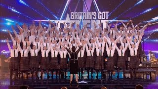 Video Presentation School Choir - Britain's Got Talent 2016 Audition week 3 MP3, 3GP, MP4, WEBM, AVI, FLV Mei 2018