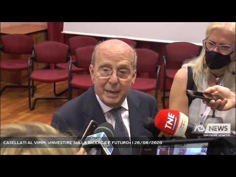 CASELLATI AL VIMM: «INVESTIRE SULLA RICERCA E' FUTURO» | 26/06/2020